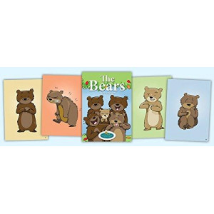 Bear Emotions Cards