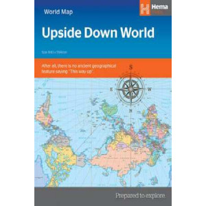 Hema Upside Down World Map