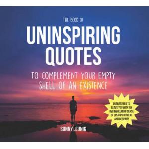 Book of Uninspiring Quotes
