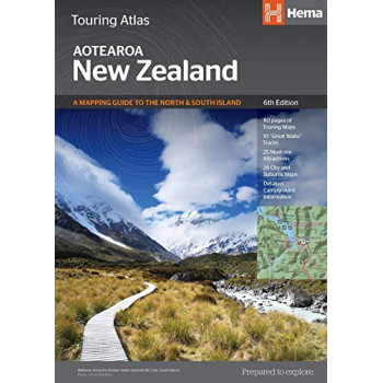 New Zealand Touring Atlas 6E