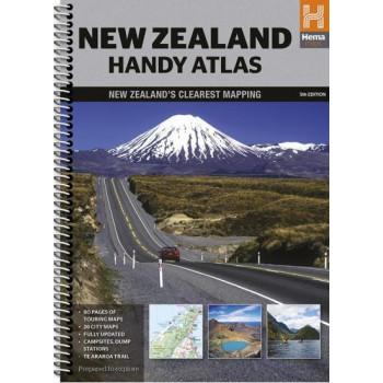 New Zealand Handy Atlas 6E