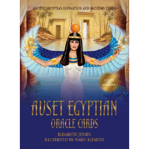 Auset Egyptian Oracle Cards: Ancient Egyptian Divination and Alchemy Cards