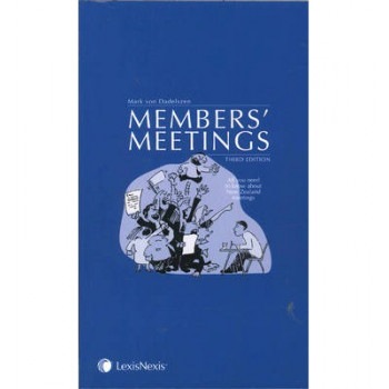 Members' Meetings : All You Need to Know About New Zealand Meeting Procedure