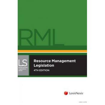Resource Management (Butterworths Student Companion)