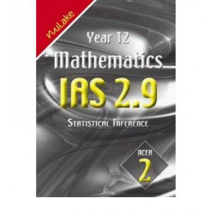 Year 12 Mathematics IAS 2.9 Statistical Inference : NCEA 1