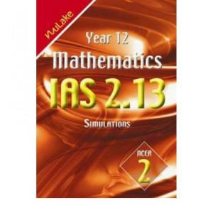 Year 12 Mathematics IAS 2.13 Simulations : NCEA 2