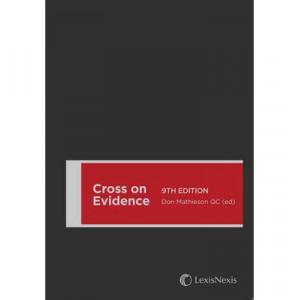 Cross on Evidence 9E