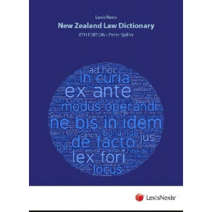 Lexis Nexis New Zealand Law Dictionary