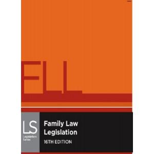 Family Law Legislation 16E