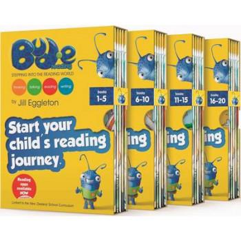 Bud.E Reading Slipcase #1 Bks 1-5