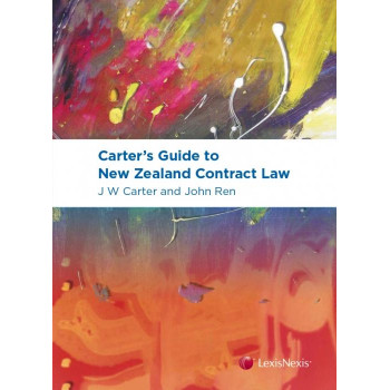 Carter's Guide to New Zealand Contract Law