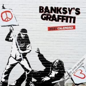 2021 Banksy's Graffiti Calendar