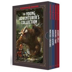 Young Adventurer's Collection: Monsters and Creatures, Warriors and Weapons, Dungeons and Tombs, Wizards and Spells: Dungeons and Dragons 4-Book B