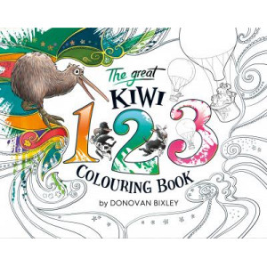Great Kiwi 123 Colouring Book