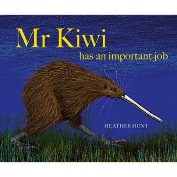 Mr Kiwi Has An Important Job
