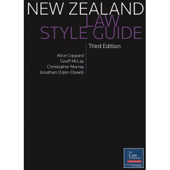 New Zealand Law Style Guide 3E