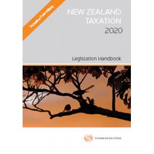 New Zealand Taxation 2020 - Legislation Handbook
