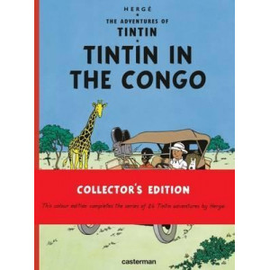 Tintin in the Congo (HARDCOVER - Casterman edition)