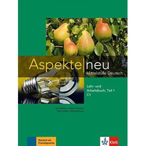 Aspekte neu C1 Lehr- und Arbeitsbuch mit Audio CD Teil 1