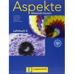 Aspekte 2/B2: Lehrbuch (Textbook) without DVD
