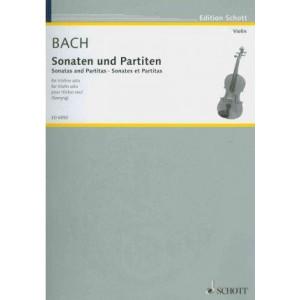Sonaten Und Partiten: Fur Violine Solo / for Violin Solo / Pour Violon Seul