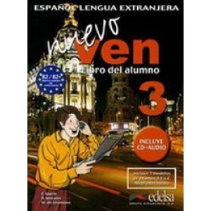 Nuevo Ven 3: Libro del Alumno (Student Book with CD)