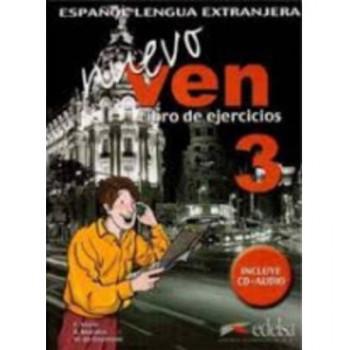 Nuevo Ven 3: Libro de Ejercicios (Exercise Book) + CD