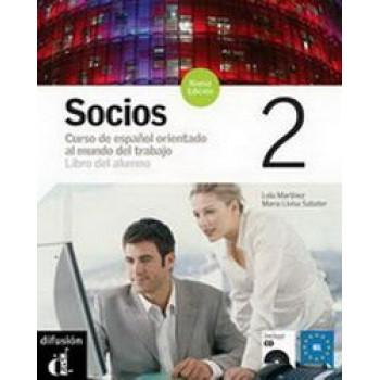 Socios 2 : Libro del Alumno (Nivel B1) + CD