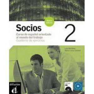 Socios 2 : Cuaderno de Ejercicios (Nivel B1) + CD