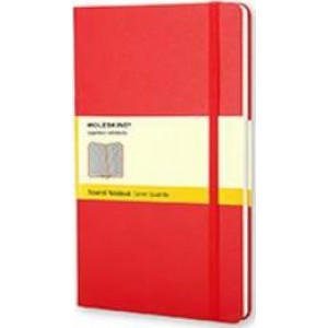 Moleskine Classic Hard Cover Notebook Grid Large Red