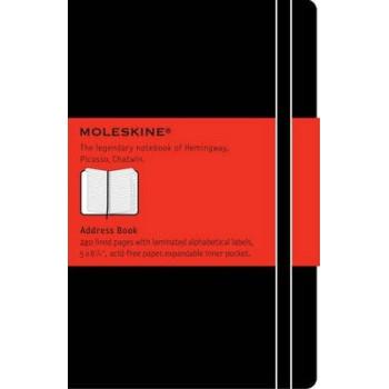 Moleskine Address Book Large