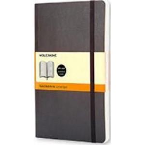 Moleskine Classic Soft Cover Notebook Ruled Pocket Black