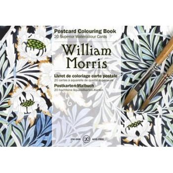 William Morris Postcard Colouring Book