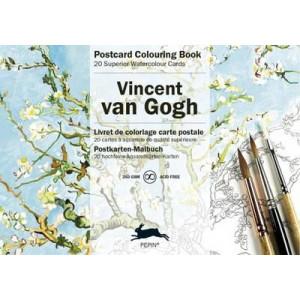 Vincent Van Gogh Postcard Colouring Book
