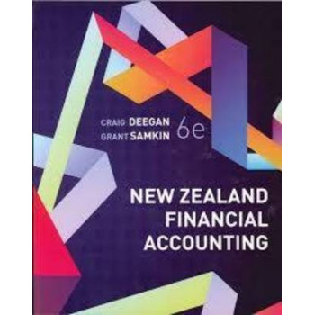 New Zealand Financial Accounting 6E - SECOND HAND COPY