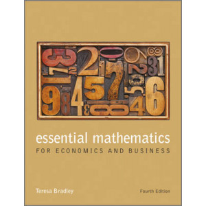 Essential Mathematics for Economics & Business 4E - SECOND HAND COPY