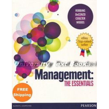 Management - The Essentials - SECOND HAND COPY