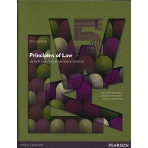 Principles of Law for New Zealand Business Students 5E - SECOND HAND COPY