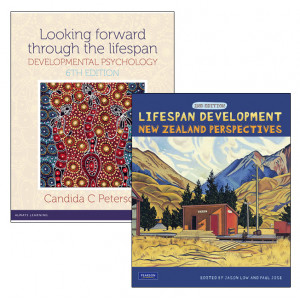 PSYC318 Pack: Looking Forward Through the Lifespan + Lifespan Development - SECOND HAND COPY