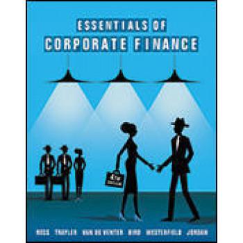 Essentials of Corporate Finance 4E - SECOND HAND COPY